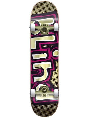BLIND COMPLETE SKATEBOARD OG FOIL GOLD LOGO 7.625 FIRST PUSH PREMIUM