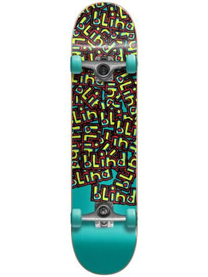 BLIND COMPLETE SKATEBOARD LETTER DROP FIRST PUSH YOUTH SOFT TOP