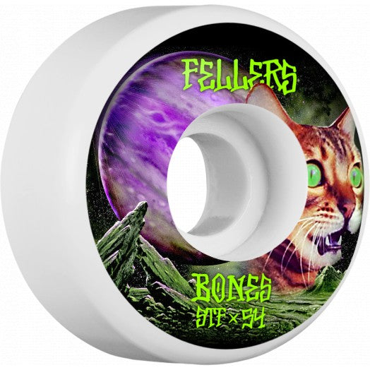 BONES WHEELS STF PRO FELLERS GALAXY CAT V3 54MM