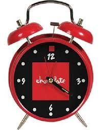 CHOCOLATE ALARM CLOCK