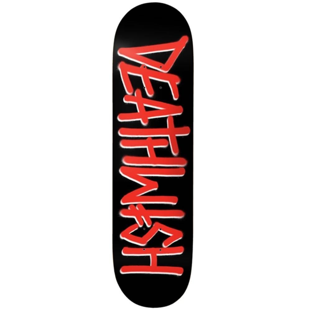 DEATHWISH DECK DEATHSPRAY BLACK/RED