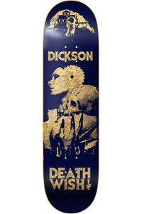 DEATHWISH DECK DICKSON COLORS OF DEATH 2 8''