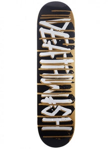 DEATHWISH DECK DEATHSPRAY DRIP GOLD 8.0''