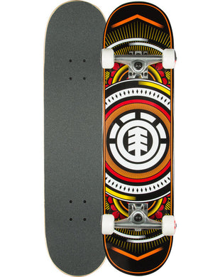 ELEMENT SKATEBOARD COMPLETE HATCHED 8''