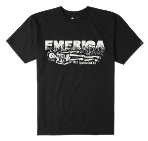 EMERICA TSHIRT ''BURNOUT''