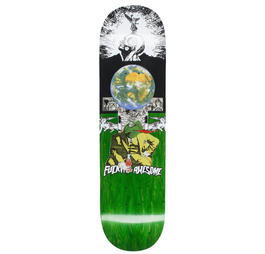 FUCKING AWESOME DECK 'TERP FROG' 8.5''