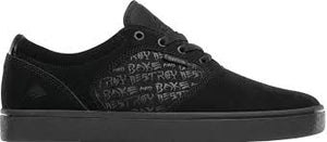 EMERICA SHOES FIGGY DOSE X BAKER BLACK/BLACK