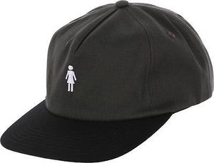GIRL SKATEBOARDS OG MICRO STRAPBACK