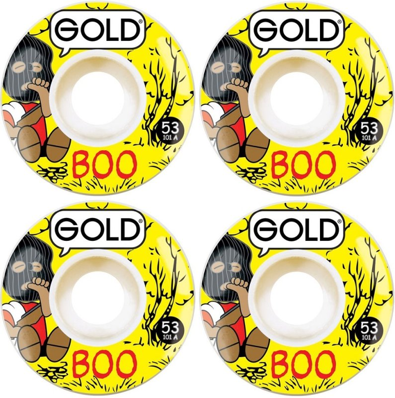 GOLD WHEELS 'BOO JOHNSON' 53MM
