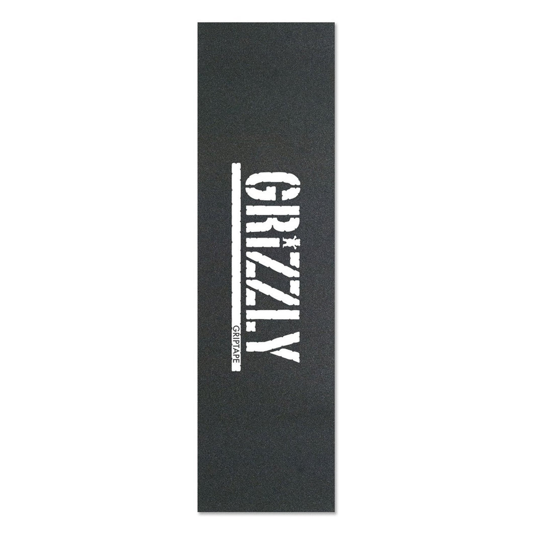 Grizzly Grip White Logo