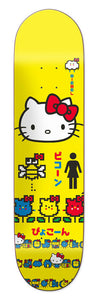 GIRL SKATEBOARDS HELLO KITTY 45TH ANNIVERSARY MIKE MO 7.75