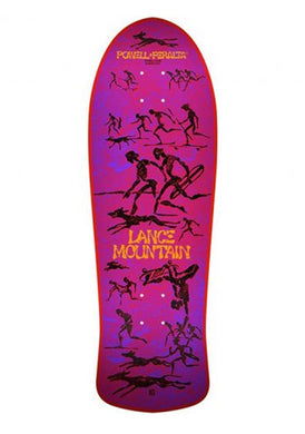 Powell Peralta Lance Mountain 'Mountain' Reissue Red
