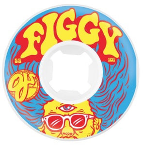 OJ WHEELS FIGGY THIRD EYE INSANEATHANE 55MM/101A