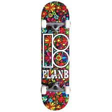 PLAN B 'FLOWER BOARD' TEAM COMPLETE SKATEBOARD