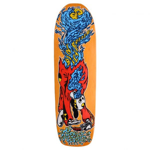 Pocket Pistols Schroeder 'Crash & Burn' skateboard deck