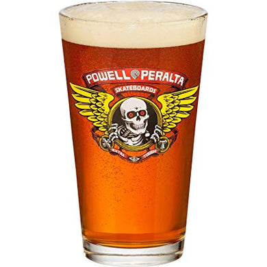 Powell Peralta Pint Glass Winged Ripper