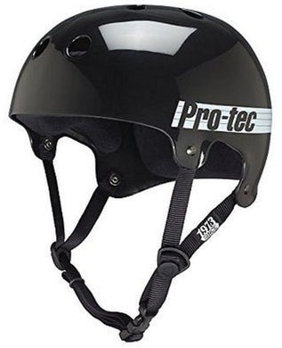 PROTEC HELMET SKATE 'THE BUCKY' SKATE GLOSS BLACK