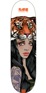 RARE CO DECK TIGER HEAD GIRL 7.875