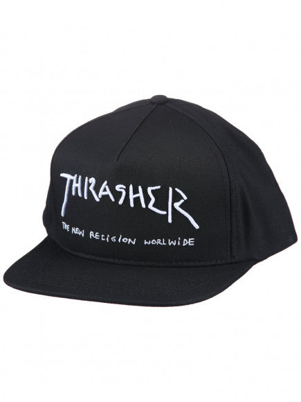 THRASHER SNAPBACK NEW RELIGION
