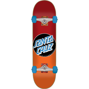 SANTA CRUZ COMPLETE SKATEBOARD CLASSIC DOT FADE RED/ORANGE