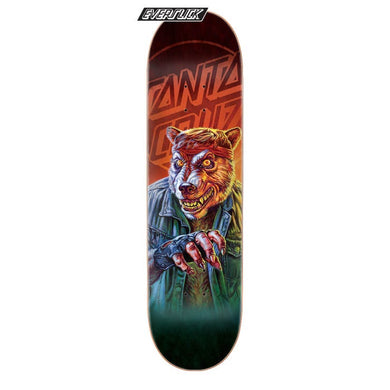 SANTA CRUZ DECK THE WORST WEREWOLF BIKER SLICK 8 X 31