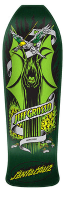 SANTA CRUZ DECK GROSSO DEMON GREEN 9.9 X 30.07