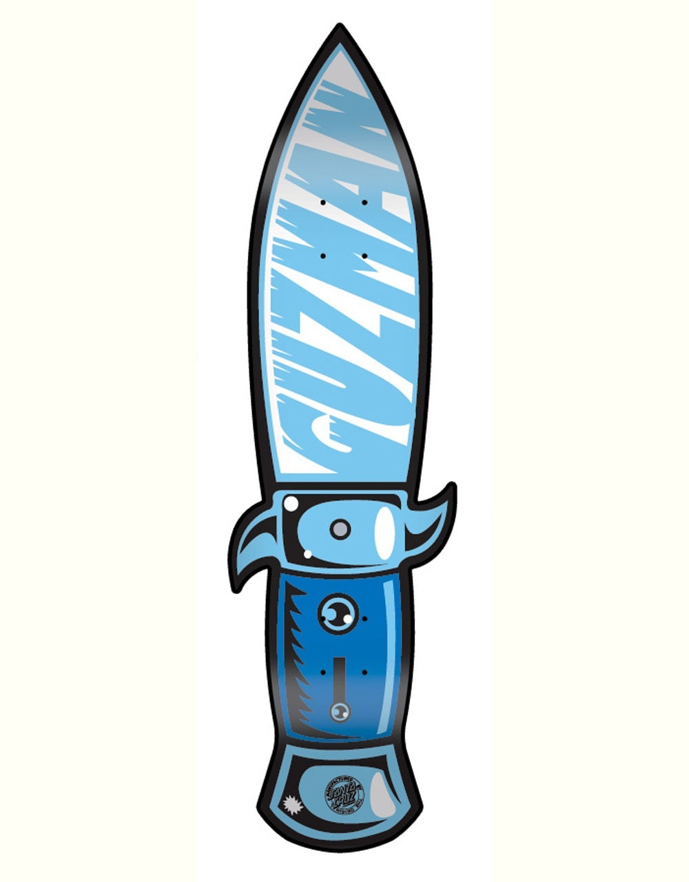 SANTA CRUZ DECK GUZMAN SWITCHBLADE POWERPLY 32.7