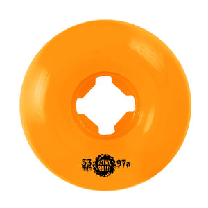 SLIME BALLS WHEELS MUNCHERS ORANGE 53MM/97A