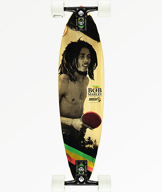 Sector 9 x Bob Marley Pintail Longboard Complete