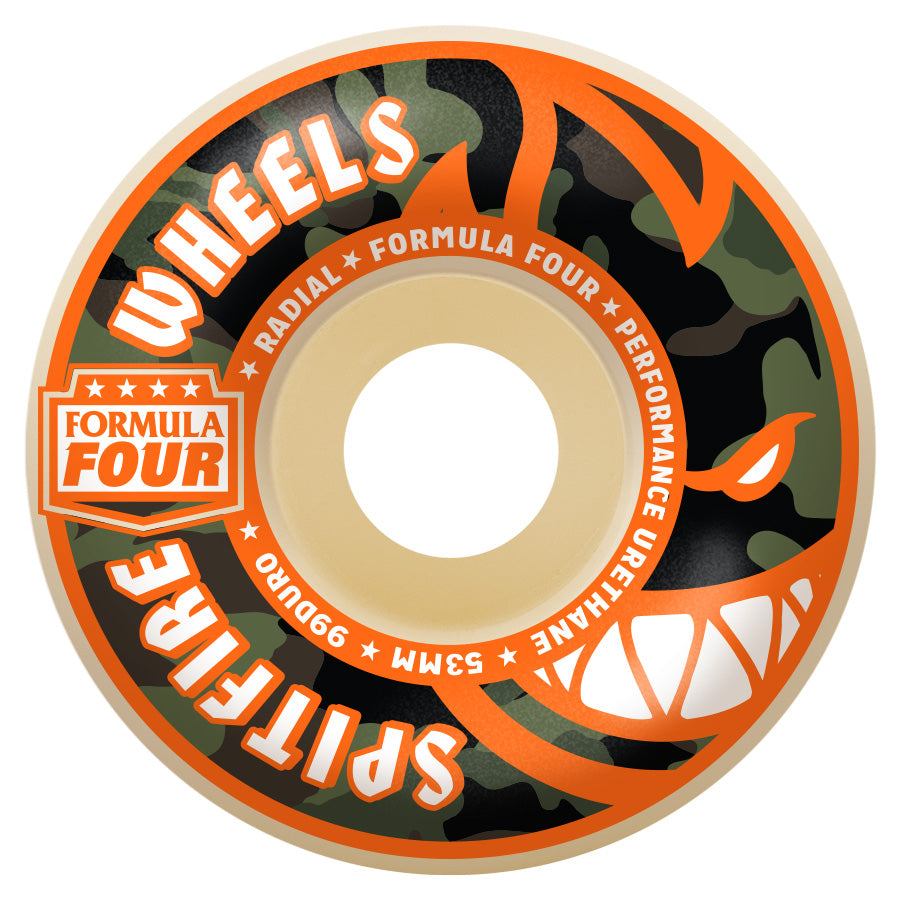 SPITFIRE WHEELS FORMULA FOUR COVERT RADIAL 54MM