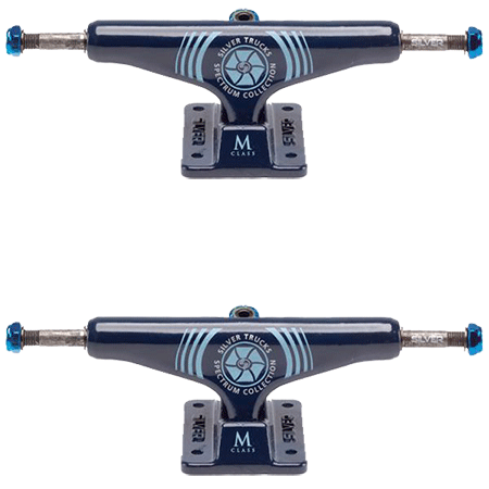 SILVER TRUCKS M CLASS HOLLOW SPECTRUM BLUE