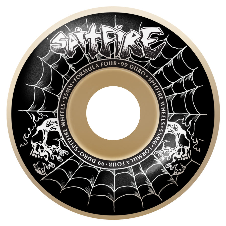 SPITFIRE WHEELS FORMULA FOUR X LOTTIES 55MM 99D