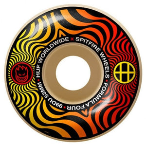 SPITFIRE WHEELS FORMULA FOUR X HUFF SWIRL 53MM