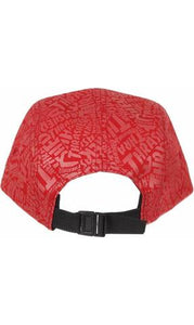 THRASHER 5 PANEL ALL OVER RED