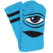 TOY MACHINE SOCKS SECT EYE BLUE