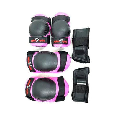 TRIPLE EIGHT PROTECTION PACK TRI JUNIOR BLACK/PINK