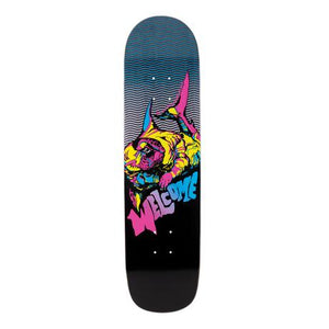WELCOME SKATEBOARDS OTTER ON BUNYIP BLACK 8.0