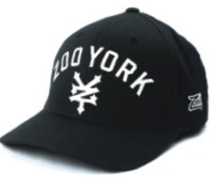 ZOO YORK CAP FLEXFIT IMMERGRUEN BLACK