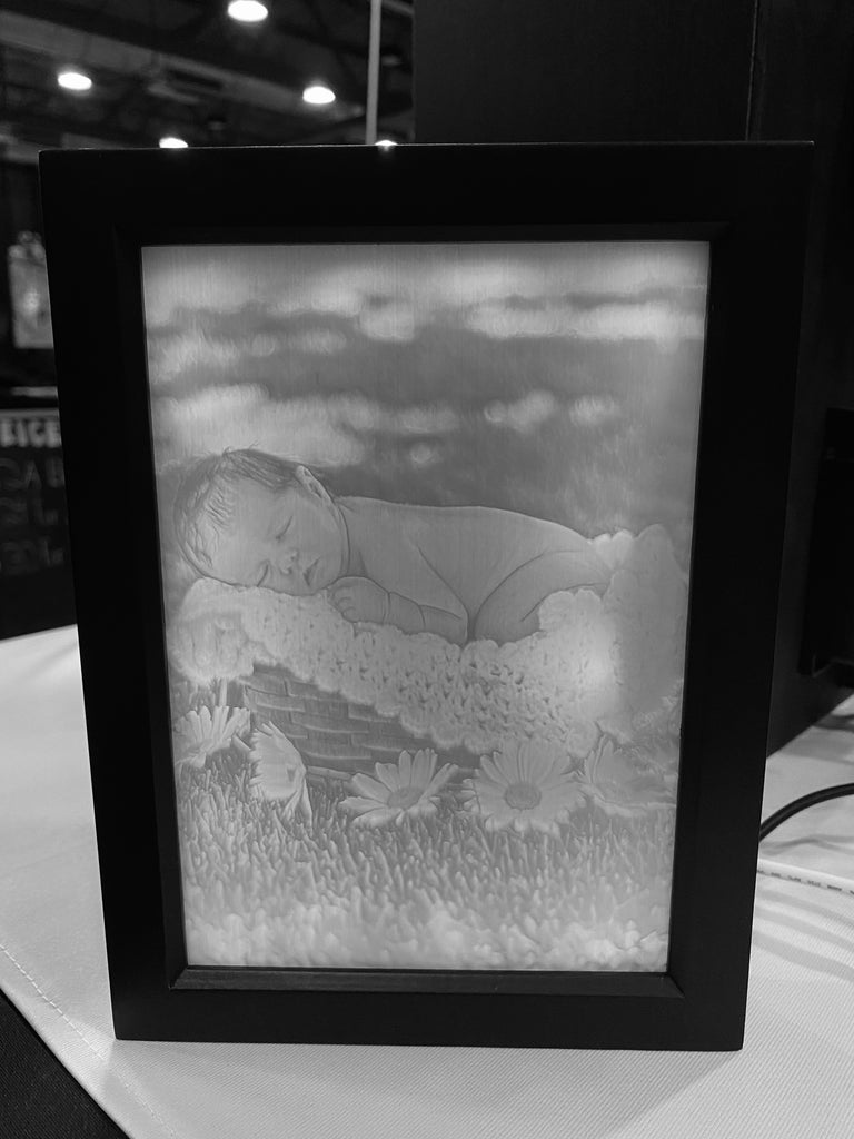 LumenGraph Framed 5x7 Photograph - LumenGraph