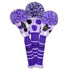 Dot Headcover Set - Purple, Black & White