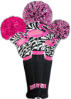 Loudmouth Savage Flamingos Headcover Set - OUT OF STOCK