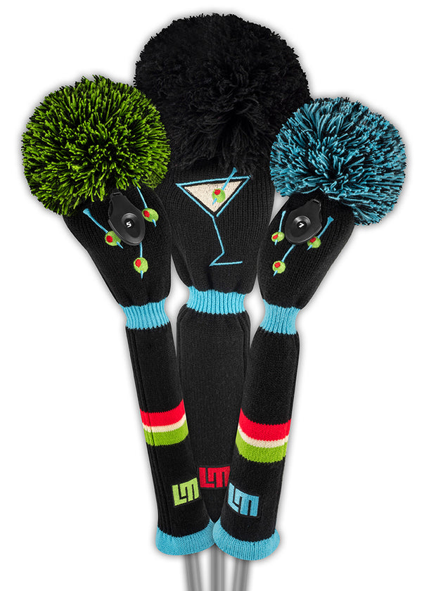 Loudmouth Tee Many Martoonies Headcover Set - New!