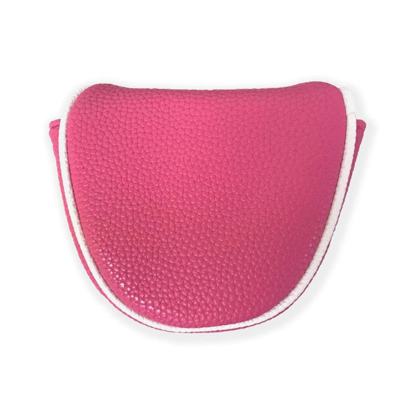 Mallet Putter Cover Bright Pink