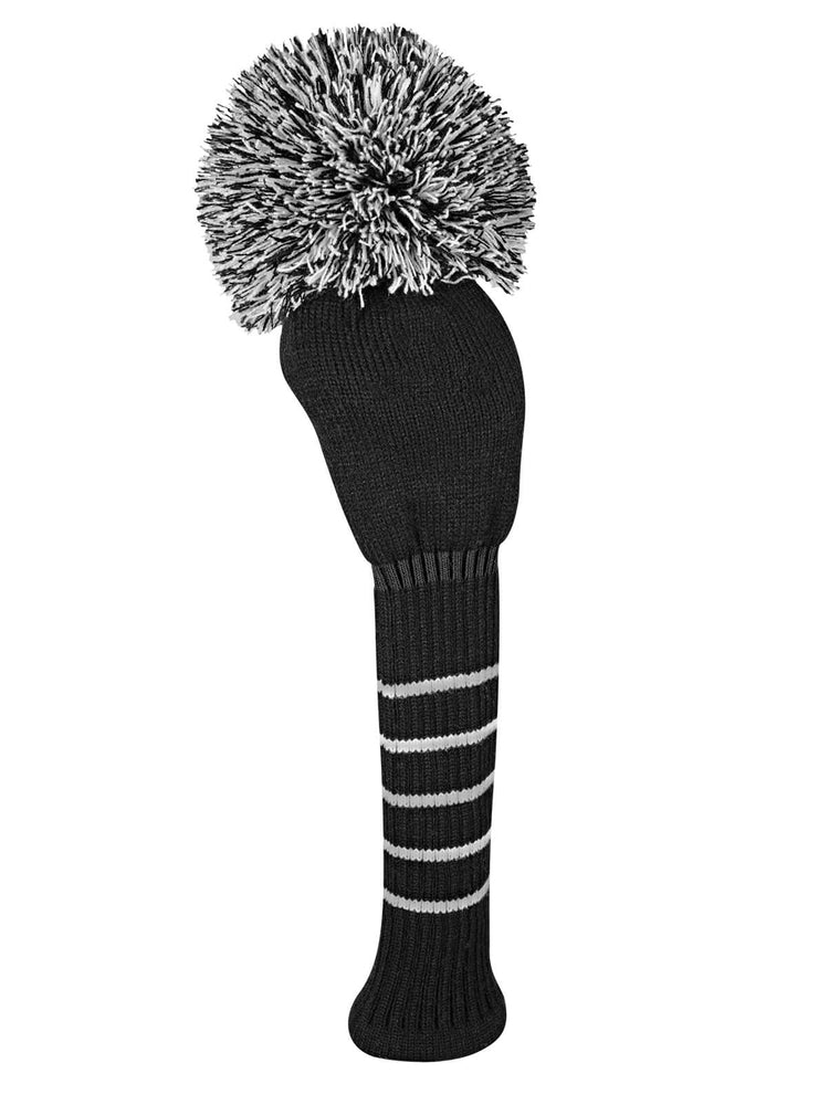 Solid Black Driver Headcover