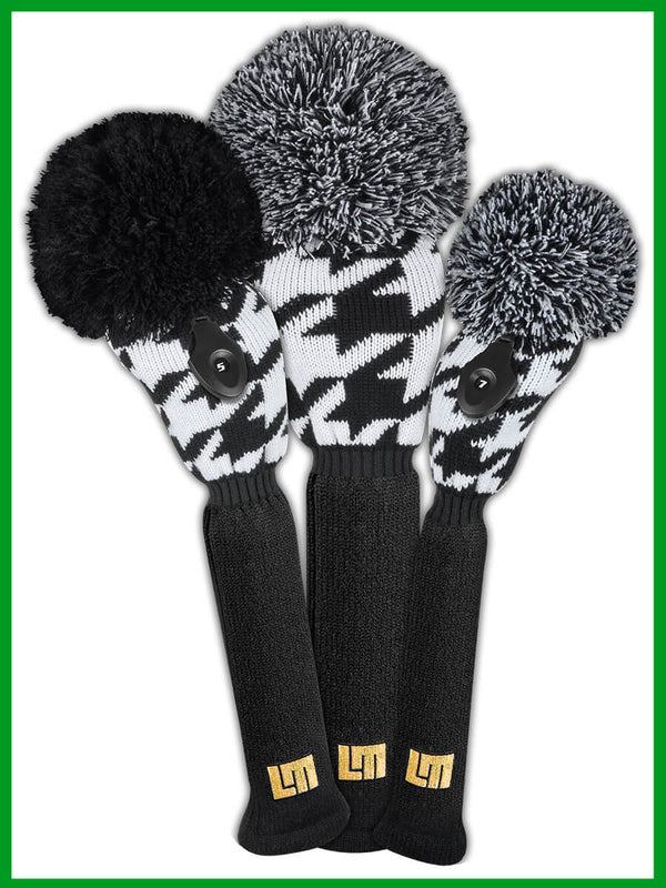Loudmouth Oakmont Houndstooth Head Cover Set