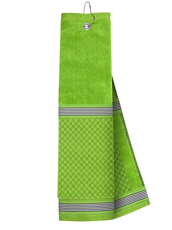 Lime Towel with Ribbon