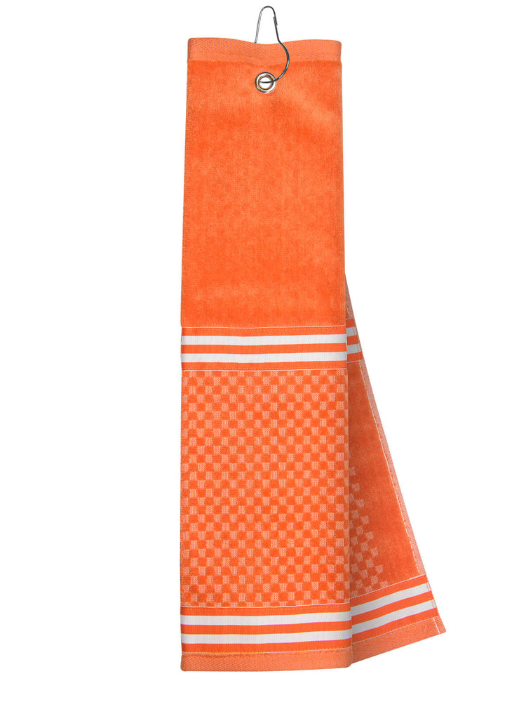 Orange Towel with Ribbon