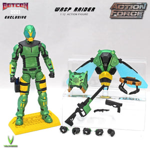 *NEW* BotCon 2021 Exclusive WASP RAIDER Pre-order NO LIMITS!