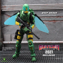 Load image into Gallery viewer, *NEW* BotCon 2021 Exclusive WASP RAIDER Pre-order NO LIMITS!