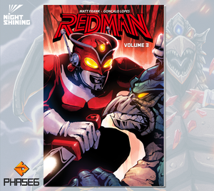 Redman: The Kaiju Hunter Volume 3
